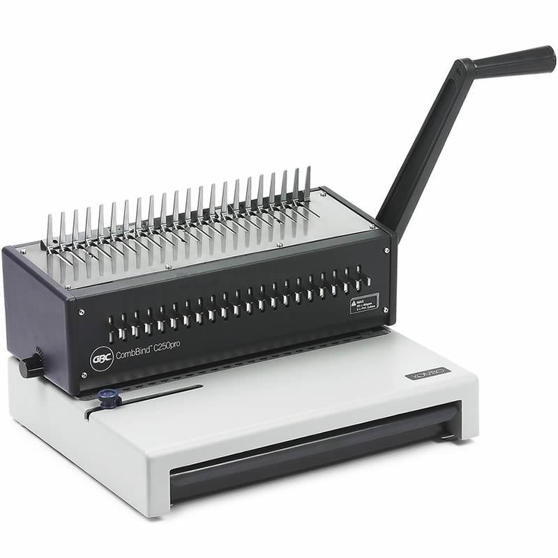 votre achat de machine relier combbind c250pro gbc au. Black Bedroom Furniture Sets. Home Design Ideas