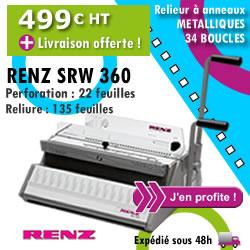Machine à relier Renz SRW-360